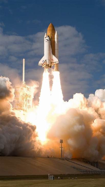 Rocket Space Launch Shuttle Spaceship Fire Wallpapers