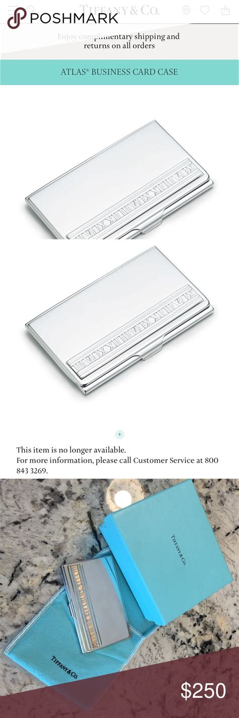 Bought in the new york store. Tiffany & Co. Atlas Business Card Holder | Tiffany & co., Business card holders, Card holder