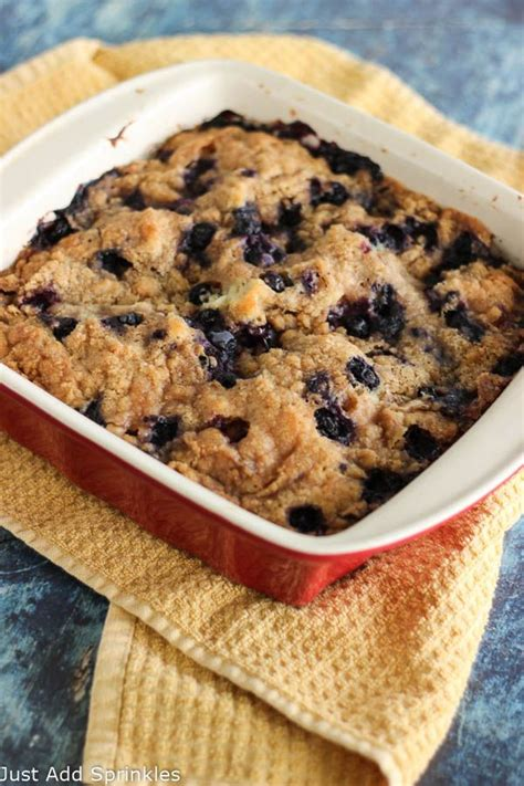 This moist, tender blueberry coffee cake scored high in our test kitchens, where tasters unanimously considered it a delicious way to use the first blueberries of the season. Easy Blueberry Coffee Cake | Blueberry coffee cake recipe, Coffee cake easy, Blueberry coffee cake
