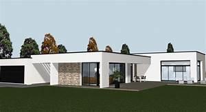 Construire Une Maison : construire une maison contemporaine et toiture cocoon ~ Melissatoandfro.com Idées de Décoration