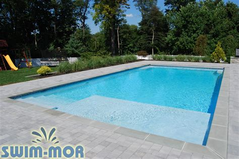 Pool Design by Geometric Pool Designs Swim Mor Pools And Spas