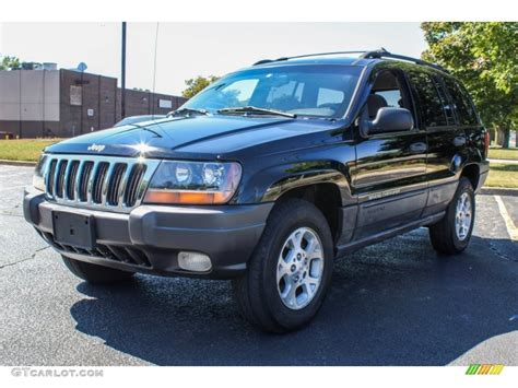2000 jeep cherokee black black 2000 jeep grand cherokee laredo 4x4 exterior photo