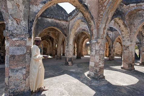 kilwa kisiwani medieval trade center  eastern africa