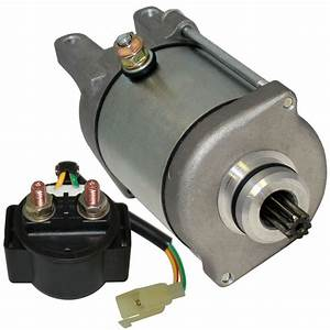 Starter And Relay Solenoid Fits Bombardier Can