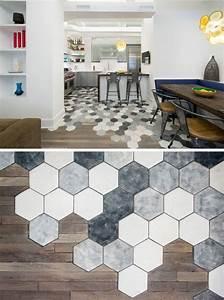 Fliesen Oder Laminat : hexagon fliesen mit parkett oder laminat kombinieren ~ Michelbontemps.com Haus und Dekorationen