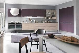 couleur pour cuisine 105 idees de peinture murale et facade With cuisine peinte grise