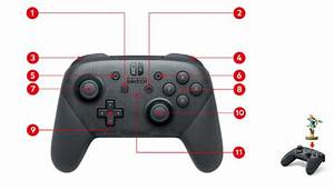 Nintendo Switch Pro Controller Diagram