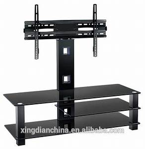 Triangle Tempered Glass Mirror Tv Stand For Household With