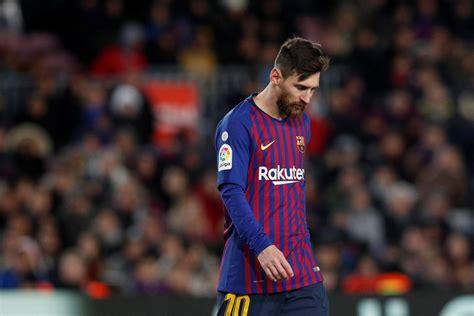 lionel messi injury barcelona star   fit