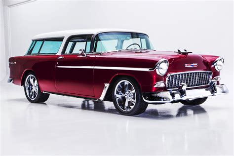 nomad car 1955 1955 chevrolet nomad 468 450hp auto ac american dream
