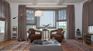 Swag Curtains For Living Room by Ideas For Bay Window Treatments The Shade Store