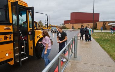power outages  bangor township school send students home