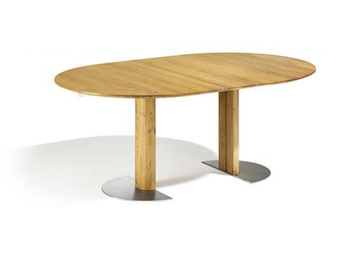 Ovaler Tisch Mit Mittelfuß by Esstisch Oval Usziehbar Sala Oval