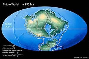 APOD: 2000 October 2 - Pangea Ultima: Earth in 250 Million ...