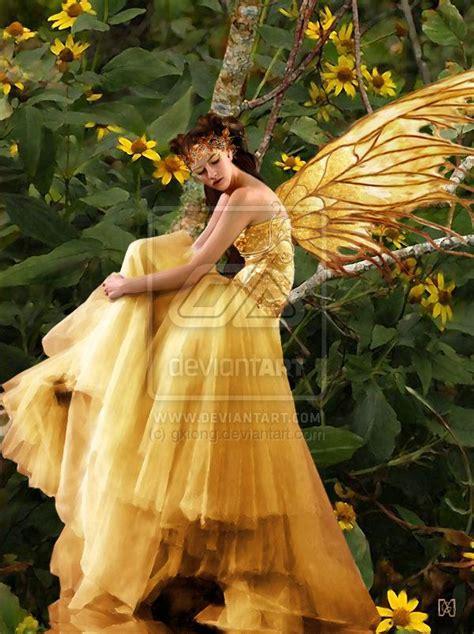 yellow fairy dress costume ideas  mid summer