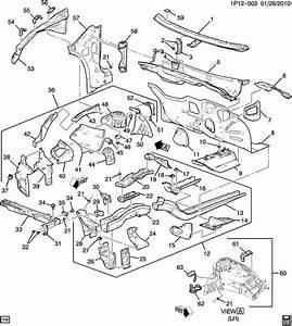 Chevrolet Cruze Panel  Front Fender Inner Wheel House