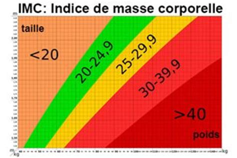 imc indice de masse corporelle d 233 finition technique docteurclic