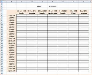 3 hourly calendar bookletemplateorg With hourly work schedule template