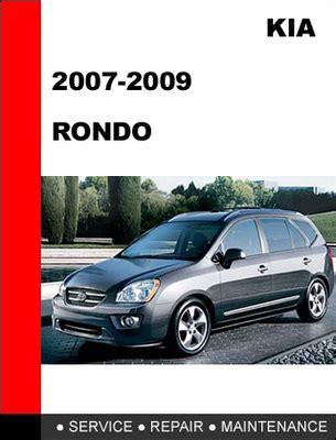 car repair manuals online pdf 2010 kia rondo auto manual kia rondo 2007 2008 2009 workshop service repair manual download