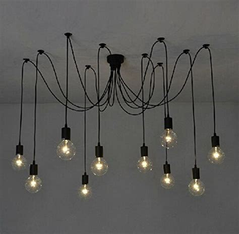 plafonnier design pour chambre suspension industrielle 25 luminaires pour illuminer