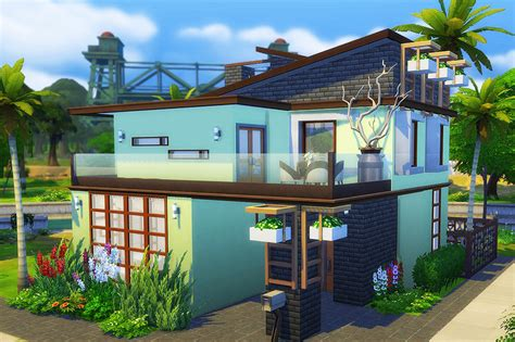 of sims 4 house building small modernity sims 4 houses and lots Best