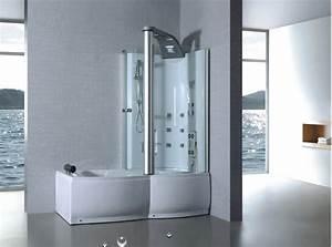 Baignoire Douche Balneo : baignoire douche ~ Melissatoandfro.com Idées de Décoration