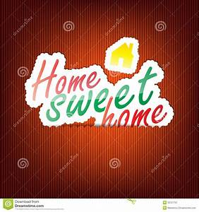Home Sweet Home Background Royalty Free Stock Photography ...