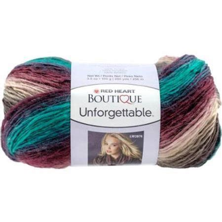 walmart yarn colors boutique unforgettable yarn available in