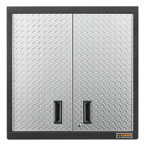metal wall storage cabinets shop gladiator premier series wall gearbox 30 in w x 30 in