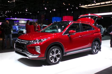 mitsubishi eclipse cross suv pictures auto express