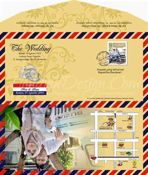 contoh surat undangan pernikahan pakai foto  images