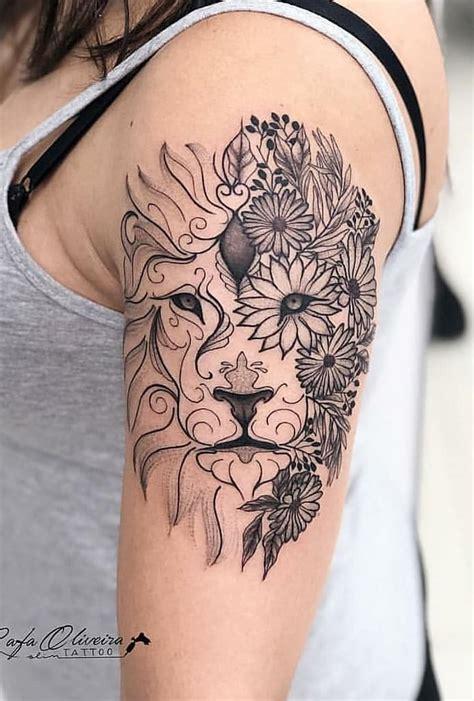 tatuagens de leao femininas  masculinas toptatuagens