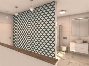 Wandgestaltung Mit Farbe Beispiele : wandgestaltung flur viele formen und farben felty ~ Markanthonyermac.com Haus und Dekorationen