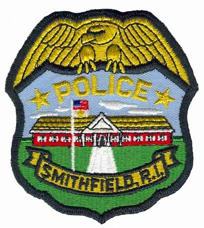 Patch Smithfield Police Cvs Shoulder Rhode Island