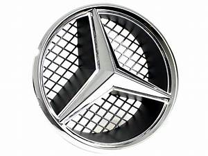 Mercedes Benz Emblem : illuminated mercedes benz emblem badge snap in ebay ~ Jslefanu.com Haus und Dekorationen