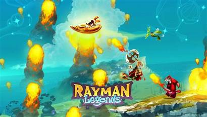 Rayman Wii Wallpapers Legends Definition Colorful