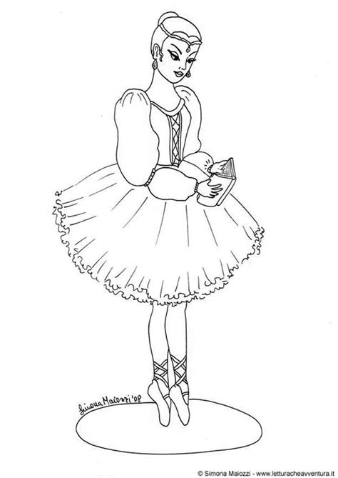 coloring page ballerina img  images