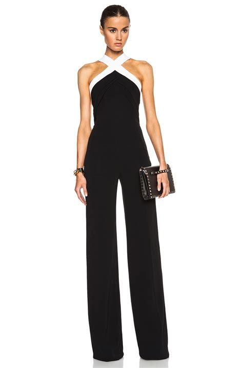 white and black jumpsuit 39 s high shares never