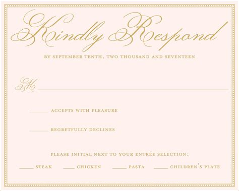 Maybe you would like to learn more about one of these? Wedding RSVP Wording Ideas