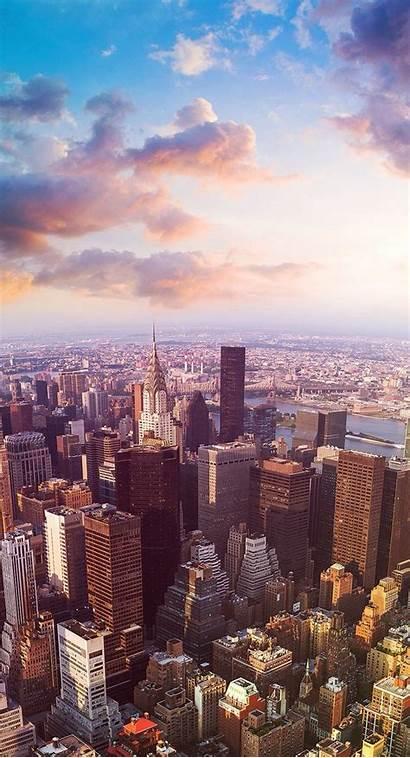 Iphone York Wallpapers Backgrounds Skyline 배경 화면