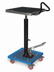 Grainger Approved Mobile Lift Table  200 Lb  Load Capacity