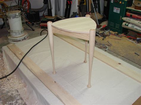 baseball bat table  clayton whisman  lumberjockscom