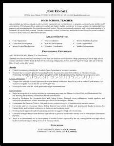 high school resume for colleges high school resume exles for collegealexa document