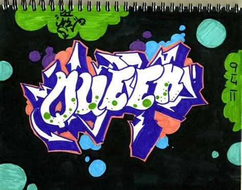 Graffiti Queen : Graffiti Sample