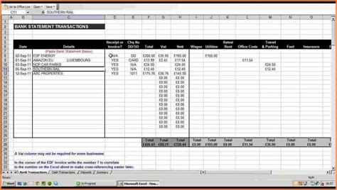 10 business expenses spreadsheet excel spreadsheets group