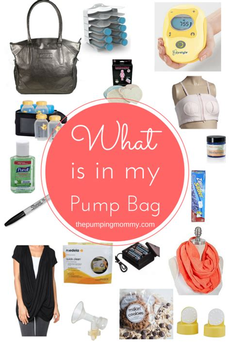 What To Put In Breast Pump Bag  Your Complete Guide