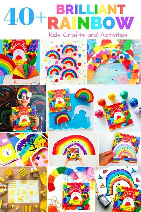 brilliant rainbow kids crafts  activities rainbow