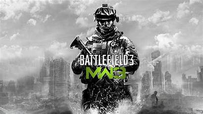 Duty Call Wallpapers Mw3 Warfare Modern Cod