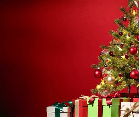 merry christmas tree   wallpapers hd