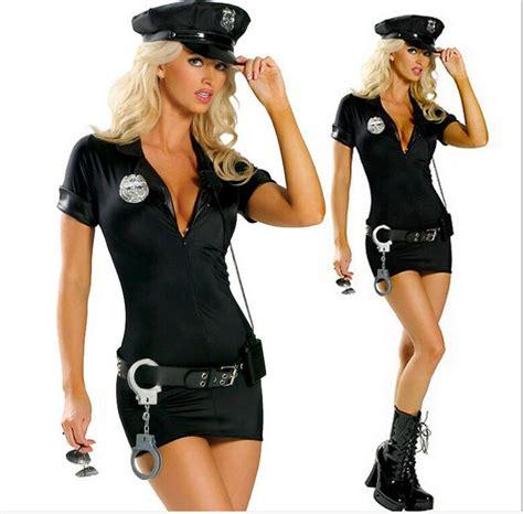 Halloween Costumes For Women Police Cosplay Costume Dress Sex Cop Uniform Sexy Policewomen